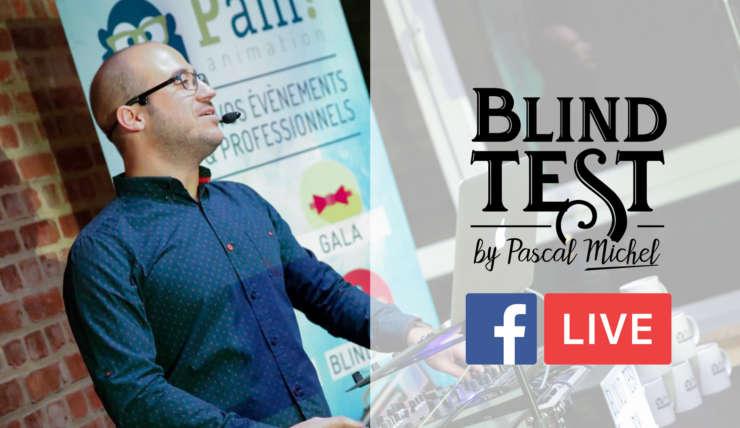 Questionnaire du Blind Test en Facebook Live