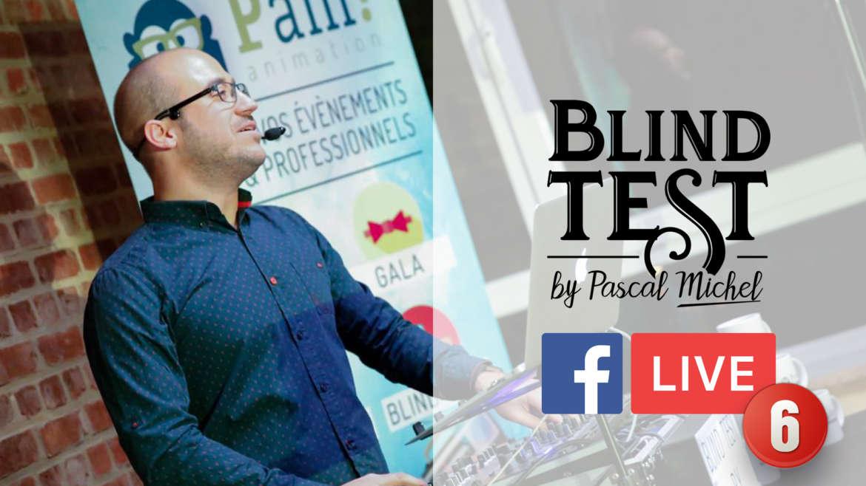 Blind test en facebook Live du 1 mai