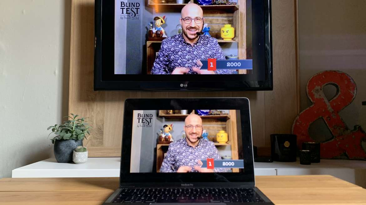 Comment jouer au « Blind Test at Home » sur Podia ?