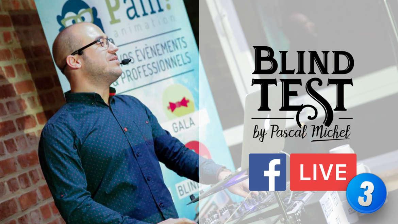 Blind Test en Facebook Live du 10 avril