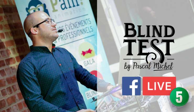 Blind Test en Facebook Live du 24 avril