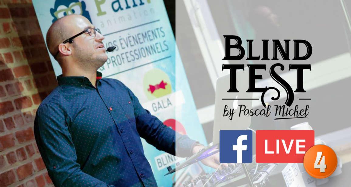 Blind Test en Facebook Live du 17 avril