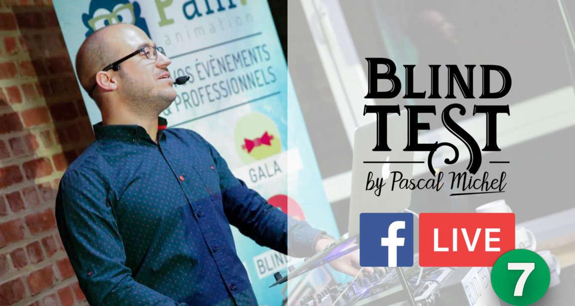 Blind Test en facebook Live du 8 mai