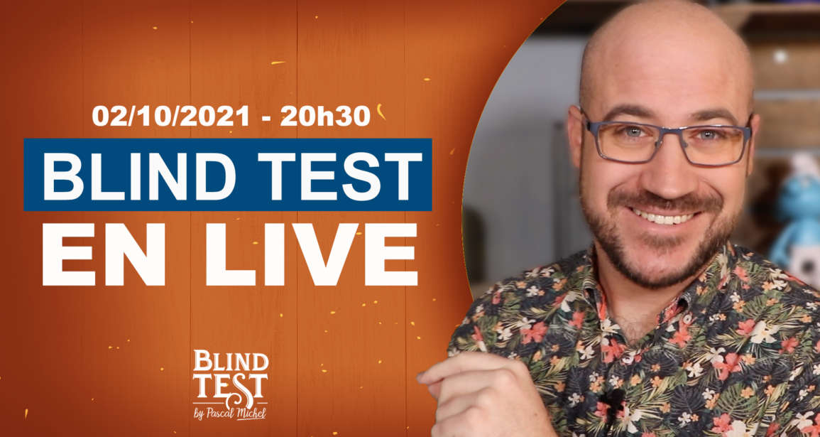 Résultats du Blind Test en ligne du 02/10